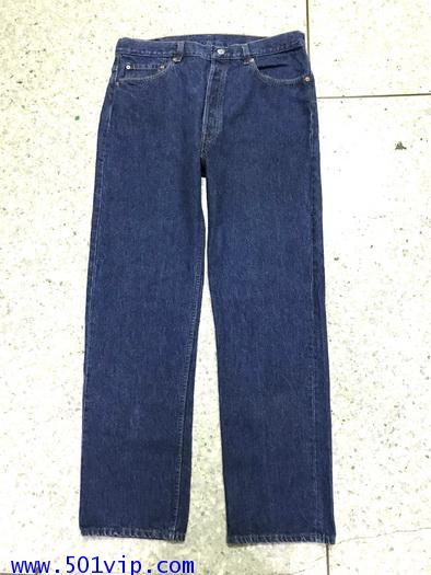 Used ลีวายส์ 501 made in USA ปี 1992 เอว 37 ยาว 32