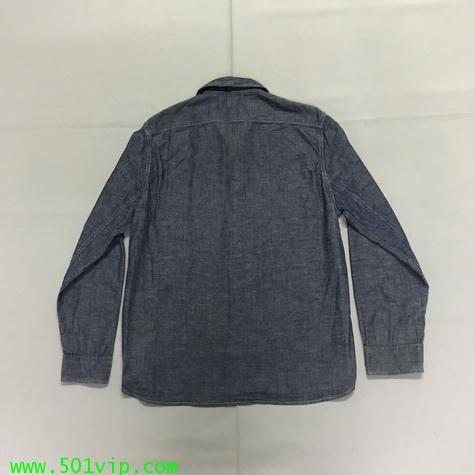 ไซส XL shirt ลีวาย LVC Chambray Sunset 60485 0006 USA ปี2011 1