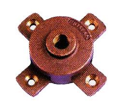 ฐานล่อฟ้า กลม 5/8 ใช้เป็นฐานยึดเสาล่อฟ้า ป้องกันฟ้าผ่าลงคอมฯและเครื่องใช้ไฟฟ้าอื่นๆ