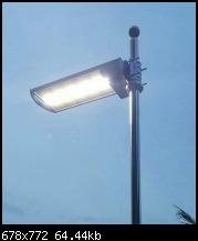 โคมพลังงานแสงอาทิตย์ ไฟสนาม 15วัตต์  รับประกัน1ปี