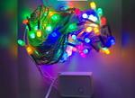 ไฟประดับ 100หัว กระพริบได้ 8เมตร สีสลับ Call086-9000-942