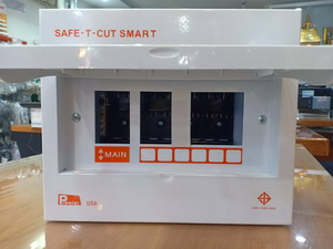 ตู้ไฟ,ตู้คอนซูเมอร์ 6ช่อง ยี่ห้อเซฟทีคัท **ตู้เปล่า** Safe T cut