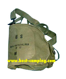 BAG MASK GAS MILITARY M17