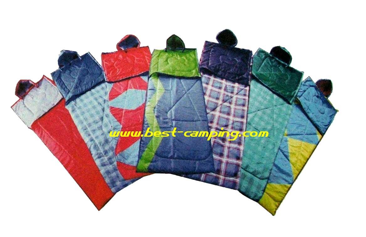 ถุงนอนสีพื้น,Sleeping Bags C-Colorful