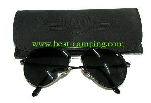 แว่นตานักบิน , แว่นตา AO ORIGINAL PILOT BLACK / (กรอบดำ)