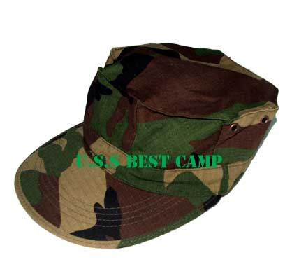 หมวก 8 เหลี่ยม Camo
