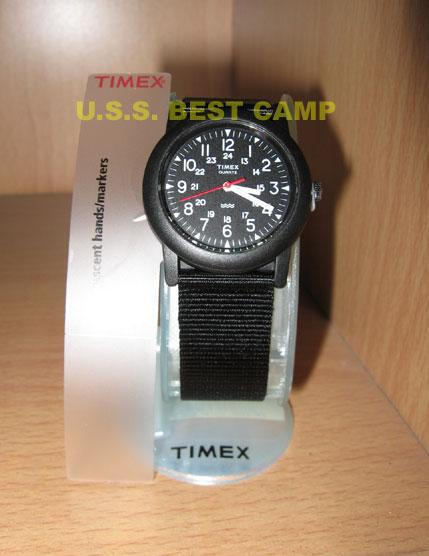 นาฬิกาทหารไทแม็กซ์ลายพราง,Timex Black US Military Watch