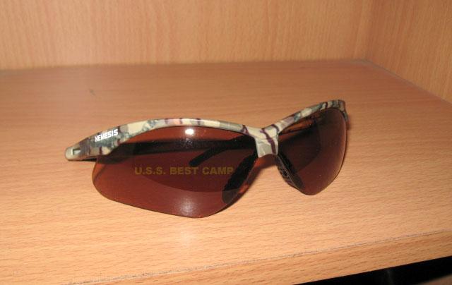 แว่นตาเซฟตี้ , แว่นตากันสะเก็ด , แว่นตา NEMESIS - 3011375 Frame  Camo , Yellow Lens