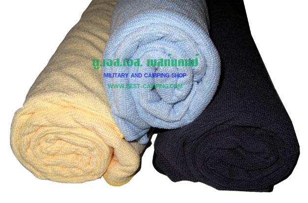 ผ้าเช็ดหน้า Micro Fiber (ดูดซับน้ำได้ 5 เท่า ,แห้งไว)