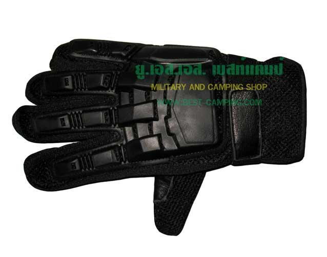 ถุงมือหนังเต็มนิ้ว-001