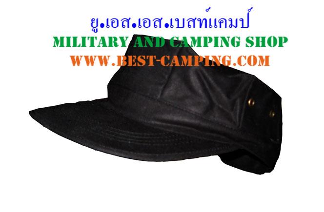 หมวกแปดเหลื่ยมสีดำ