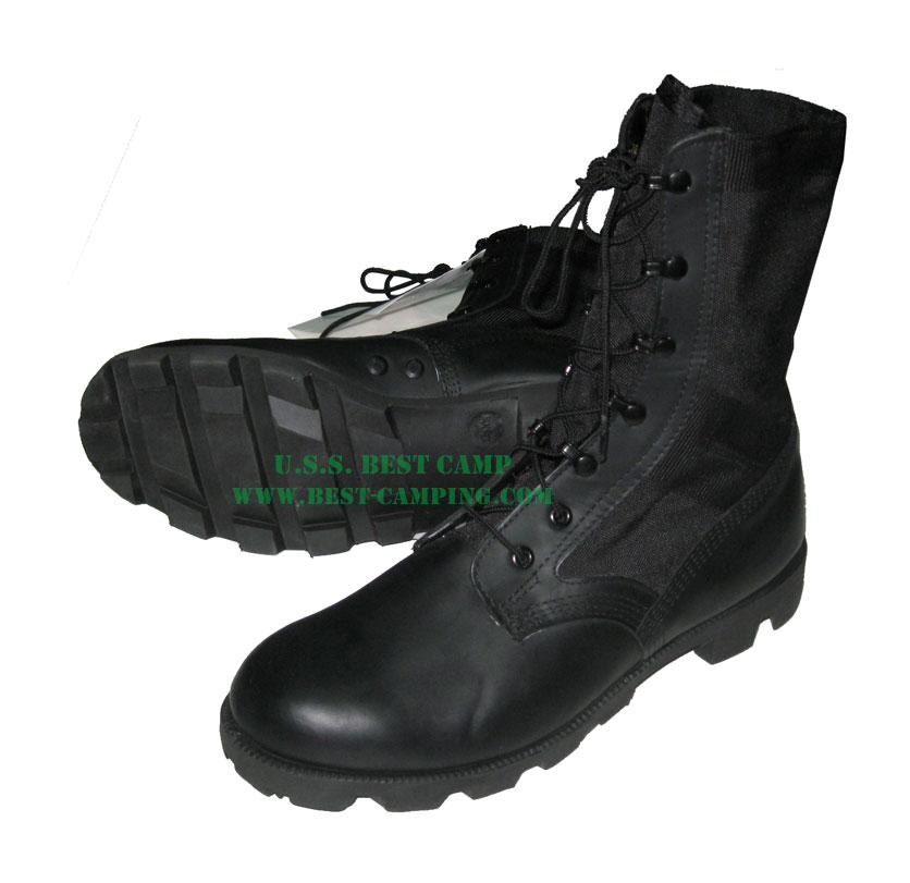 รองเท้าจังเกิ้ลดำ (JUNGLE ROSEARCH WELLCO)