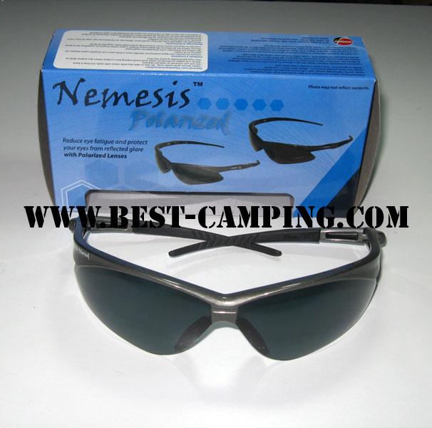 แว่นตาเซฟตี้ , แว่นตากันสะเก็ด , แว่นตา NEMESIS POLARIZED LENS BLACK / GREY FRAME