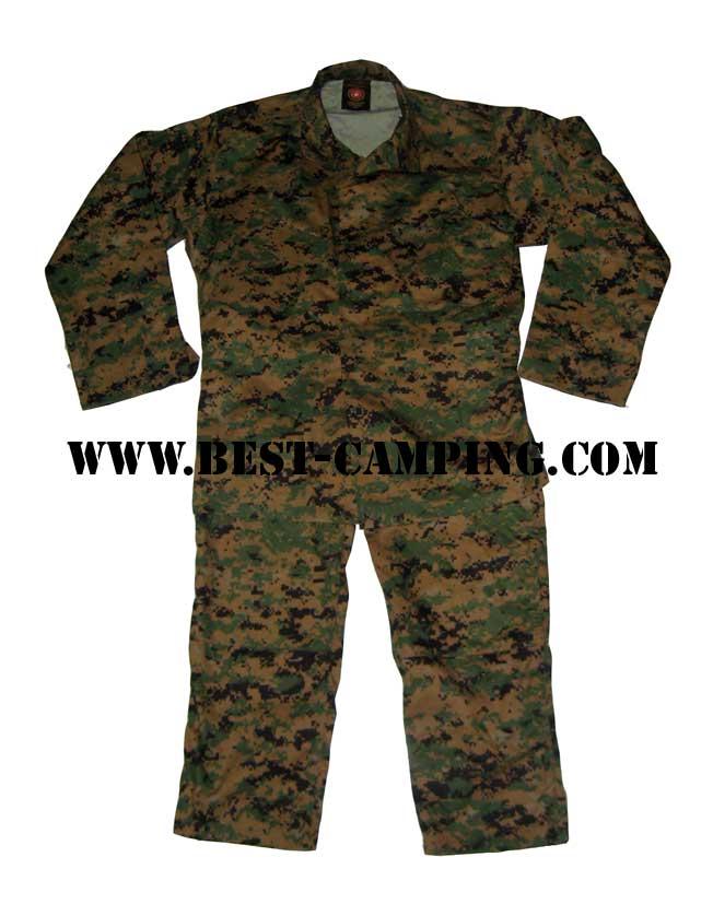 BDU UNIFORM USMC (ชุดพรางดิจิตอลมารีน)