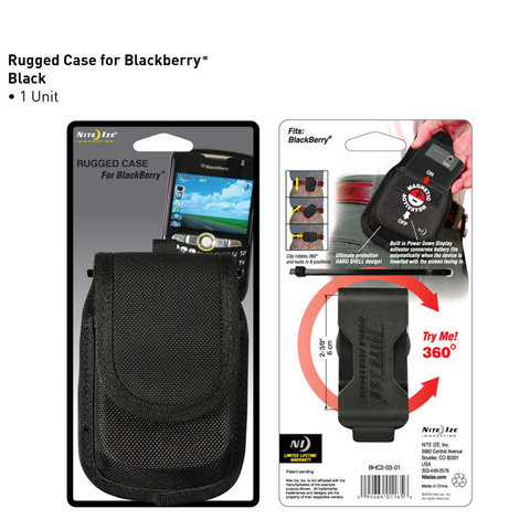 RUGGED CASE FOR BLACKBERRY BLACK (กระเป๋าใส่ BLACKBERRY)