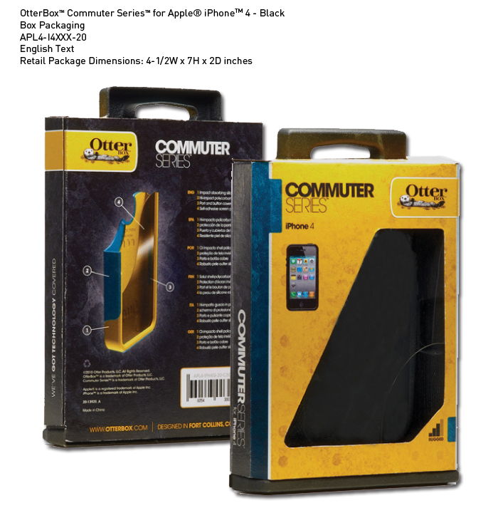 OTTERBOX DEFENDER SERIES FOR iPHONE4(ซองกันกระแทก iphone 4)