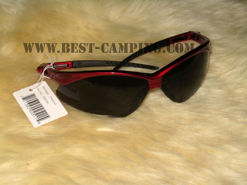 แว่นตาเซฟตี้ , แว่นตากันสะเก็ด , แว่นตา NEMESIS LENS BLACK FRAME RED