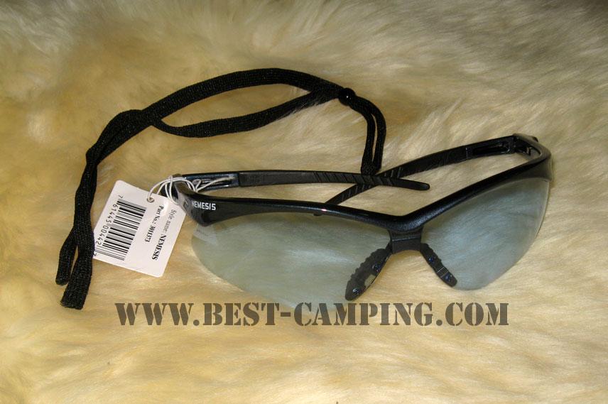 แว่นตาเซฟตี้ , แว่นตากันสะเก็ด , แว่นตา NEMESIS BLUE FRAME LIGHT BLUE LENS SAFETY GLASSES