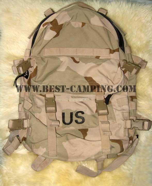 กระเป๋าเป้ MOLLE Desert 3 color ,MOLLE II MODULAR LIGHTWEIGHT LOAD-CARRYING EQUIPMENT ASSAULT PACK