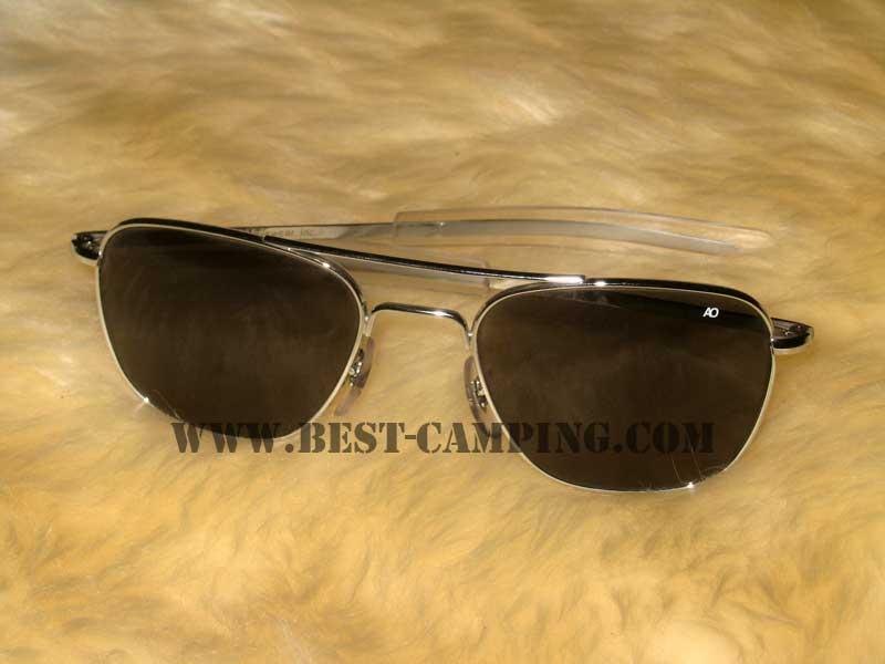 แว่นตานักบิน , แว่นตา AO Original Pilot 52 x 20 x 140mm ce SILVER CHROME/ (กรอบเงินโครเมี่ยม)