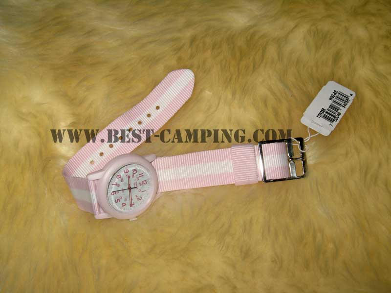 นาฬิกาไทแมค,นาฬิกาทหาร,นาฬิกาเดินป่า,นาฬิกาเดินทางท่องเที่ยว,outdoor,Timex Pink US Military Watch