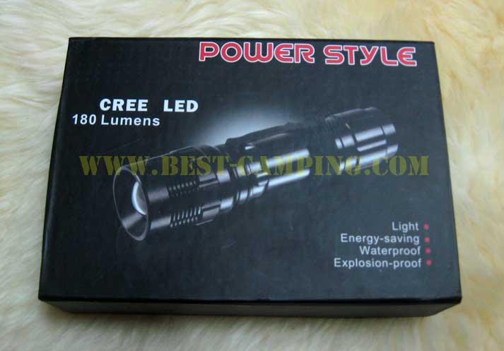 ไฟฉาย รุ่น Ultrafire SL130W Flashlight CREE (3 Step)+ถ่าน+ชาร์ทไฟบ้าน+ซองไฟฉาย