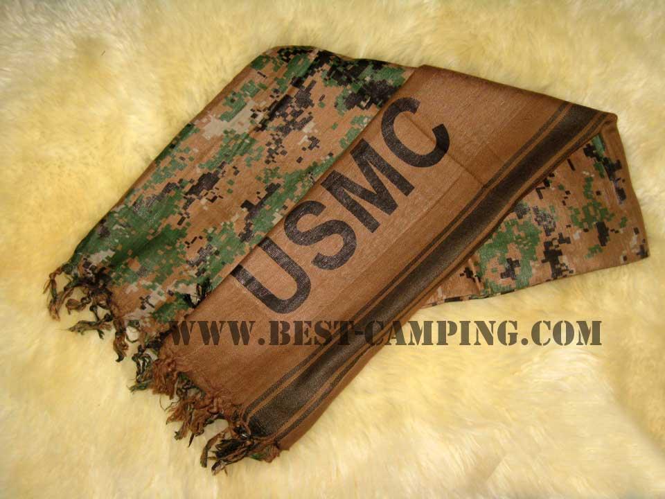 ผ้าชีมัคลายดิจิตอลมารีน usmc,ผ้าโพกหัว,ผ้าคาดหัว,ผ้าพันคอ,ผ้าอเนกประสงค์,Shemagh Digital Marine USMC