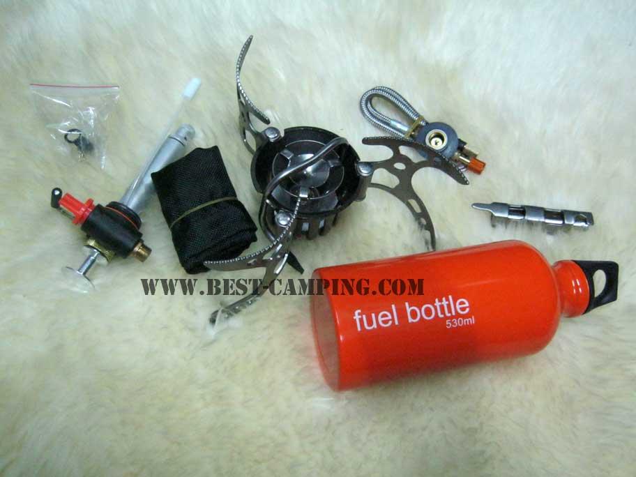 เตาแคมป์ปิ้ง,เดินป่า,เตาแก็ส,เตาน้ำมัน,BRS-8 BRS-8 Oil/Gas Multi-Use Stove