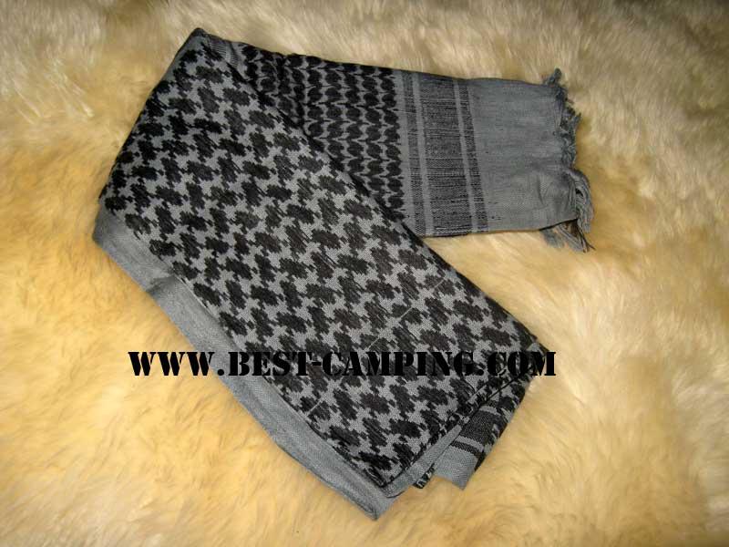 ผ้าชีมัคสีเทา,ดำ,ผ้าโพกหัว,ผ้าคาดหัว,ผ้าพันคอ,ผ้าอเนกประสงค์ , Shemagh ,Grey ACU,Black
