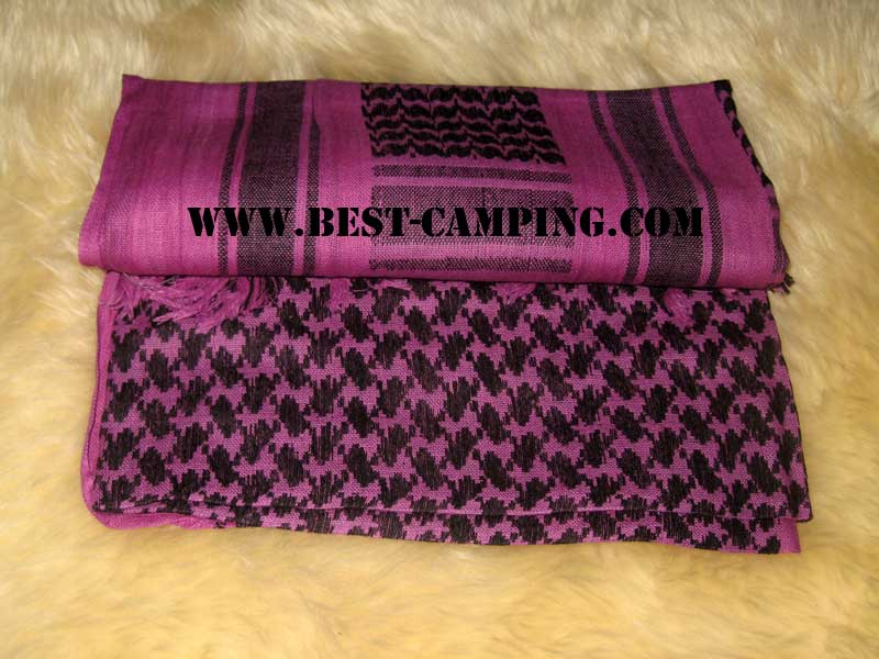 ผ้าชีมัคสีม่วง,ดำ,ผ้าโพกหัว,ผ้าคาดหัว,ผ้าพันคอ,ผ้าอเนกประสงค์ , Shemagh ,Purple,Black