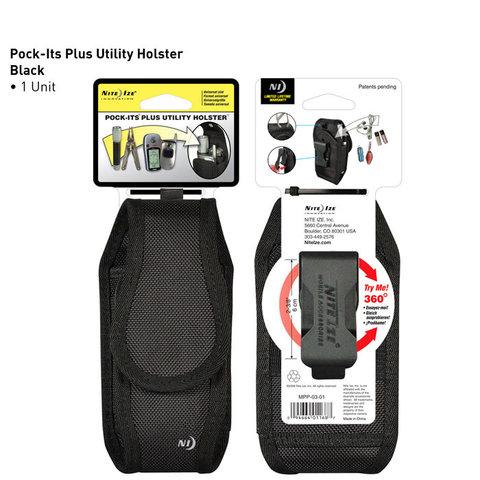 กระเป๋าใส่อุปกรณ์,NITE IZE POCK-ITS PLUS UTILITY HOLSTER BLACK