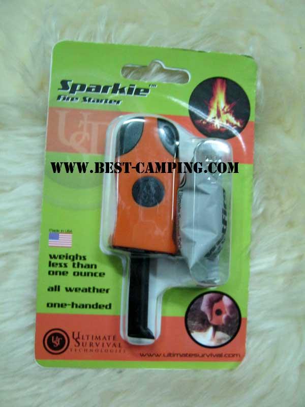 ตัวจุดไฟ,อุปกรณ์จุดไฟ,SPARKIE FIRE STARTER, ULTIMATE SURIVVAL