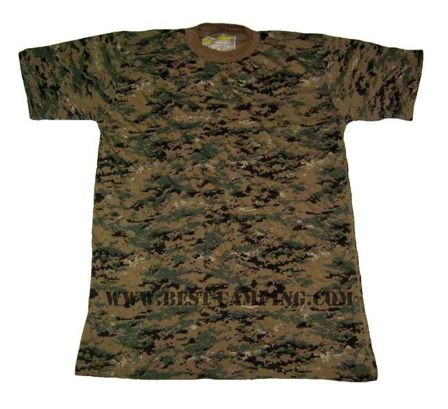 เสื้อซับในทหารอเมริกัน,เสื้อยืดทหารอเมริกัน , T-Shirt MASSIF DG-MARINES USMC