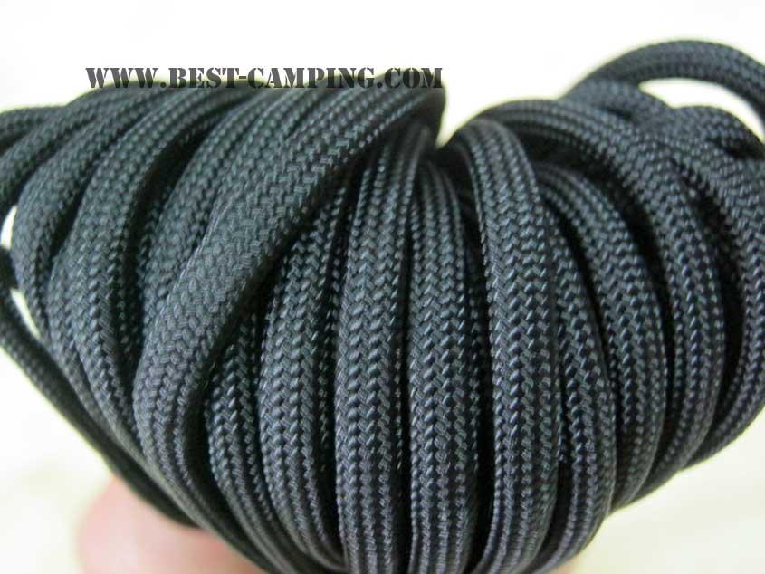 เชือกอเนกประสงค์ ,สีดำ,ROTHCO NYLON PARACORD  550 TYPE III COMMERCIAL, BLACK 100Ft.