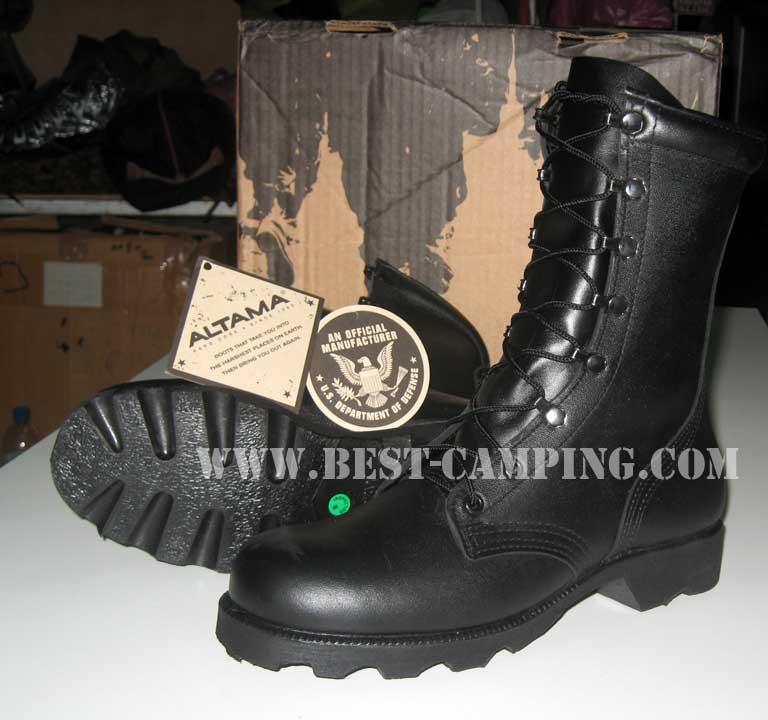 รองเท้าคอมแบทโรเสริท์,(Combat Rosearch),รองเท้าทหาร, US Ro-Search ALTAMA Vulcanized Boots