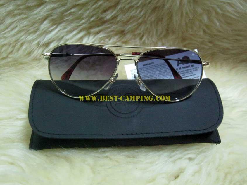 แว่นตานักบิน,ลิมิเต็ด,กรอบทอง,AO 52 x 14 x 145mm,MAXIMUN,UV,GN58G,WS,GGRY,LIMITED