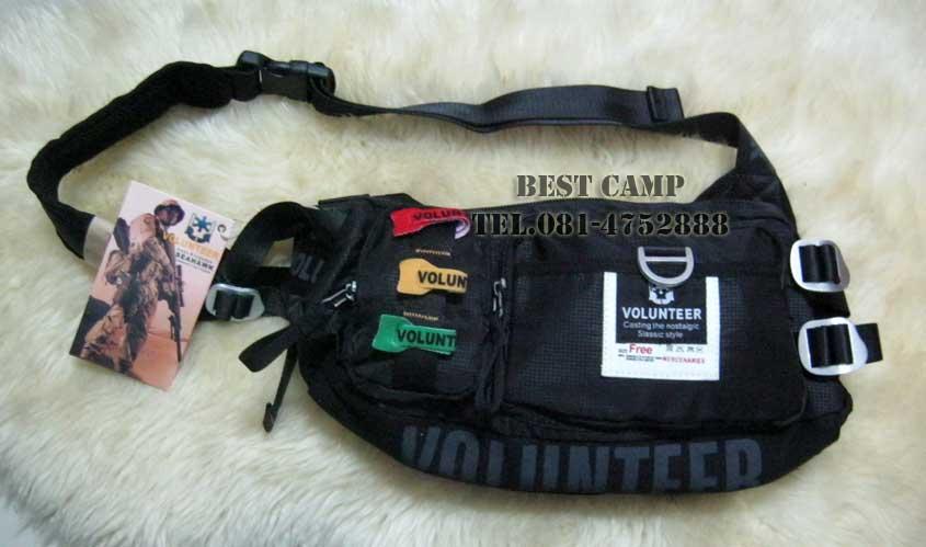 กระเป๋าแนว TACTICAL ,OUTDOOR,VOLUNTEER VA-1543-10 BLACK,GREEN