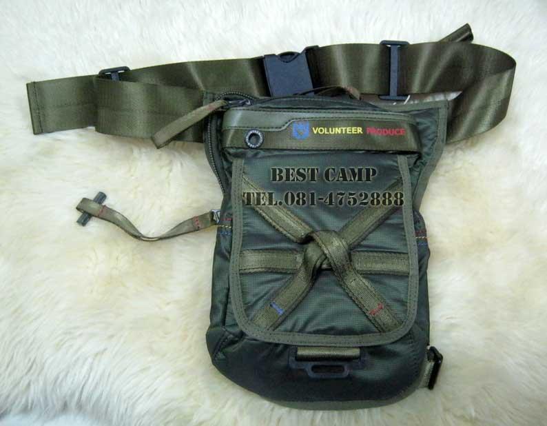 กระเป๋าแนว TACTICAL ,OUTDOOR,VOLUNTEER VA-1543-14 BLACK,GREEN