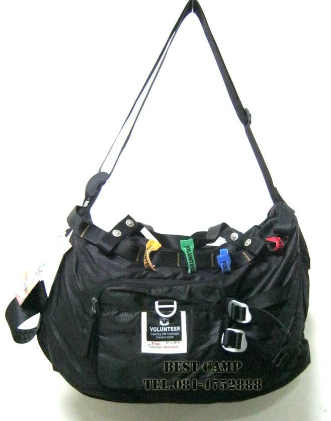 กระเป๋าแนว TACTICAL,OUTDOOR,VOLUNTEER,VA-1536-02,BLACK,GREEN