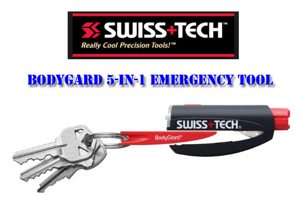 SWISS+TECH,bodygard 3-in-1 emergency tool,Really Cool Precision Tools