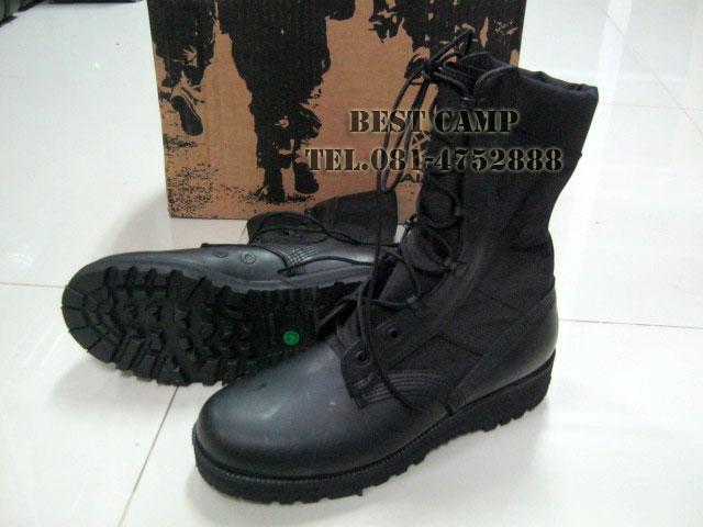 รองเท้าจังเกิ้ลดำ,โรเสริท์,(Blk,jungle US Ro-Search),รองเท้าทหาร, Vibram ALTAMA