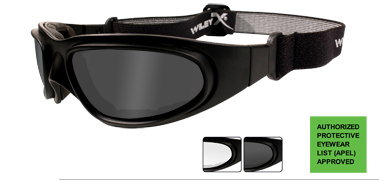 Wiley X SPEAR GOGGLE GREY/CLEAR/ BLACK FRAME,แว่นตาเซฟตี้,แว่นตา Tactical,แว่นตายุทธวิธี,แว่นตา OUTD