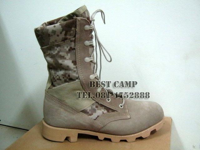 รองเท้าจังเกิ้ลดิจิตอลทะเลทราย,(DG,Jungle,Desert,hot,weather),รองเท้าทหาร