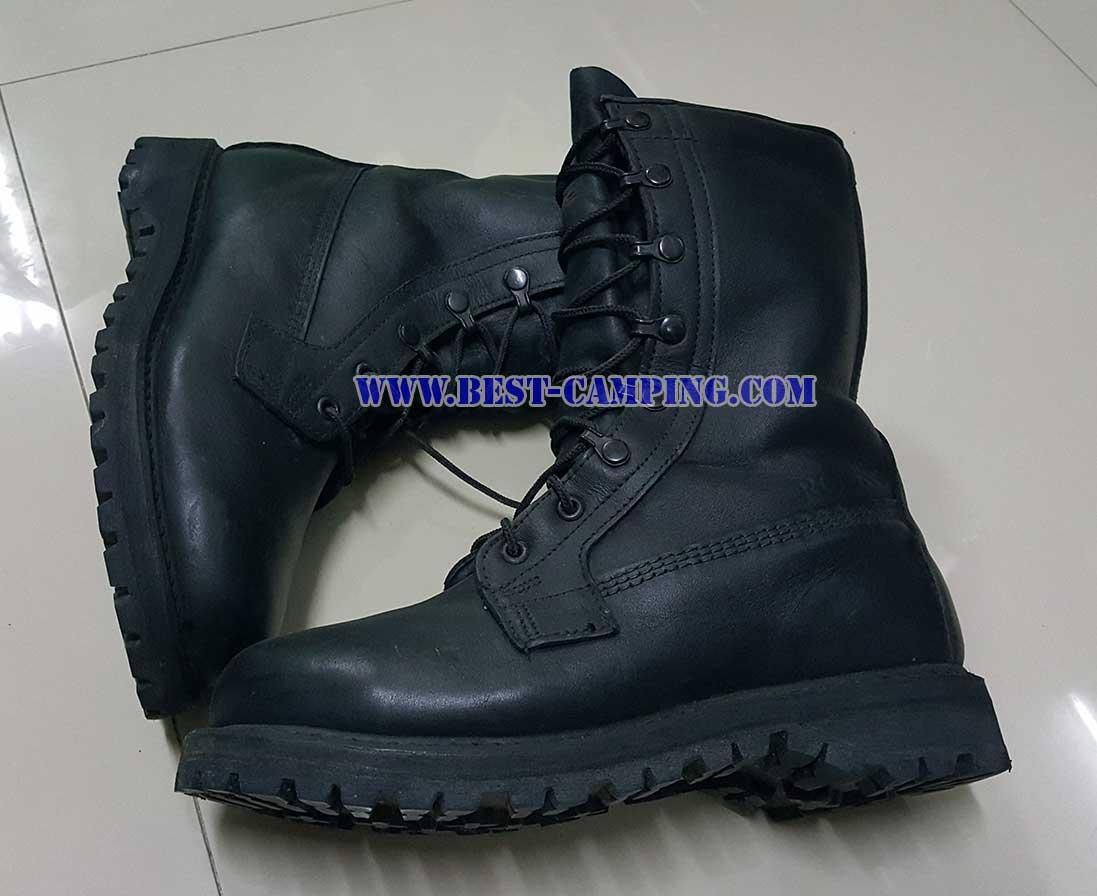 รองเท้าคอมแบทกอร์เท็กซ์,ROCKY GORE-TEX BLACK LEATHER BOOTS