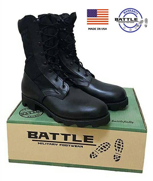 รองเท้าจังเกิ้ลดำขอบนวม,โรเสริท์,BOOTS,HOT WEATHER, (Blk,Jungle Mil Spec Boot Ro Search )