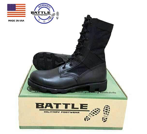 รองเท้าจังเกิ้ลดำ,โรเสริท์,BOOTS,HOT WEATHER, (Blk,Jungle Mil Spec Boot Ro Search ),รองเท้าทหาร, US