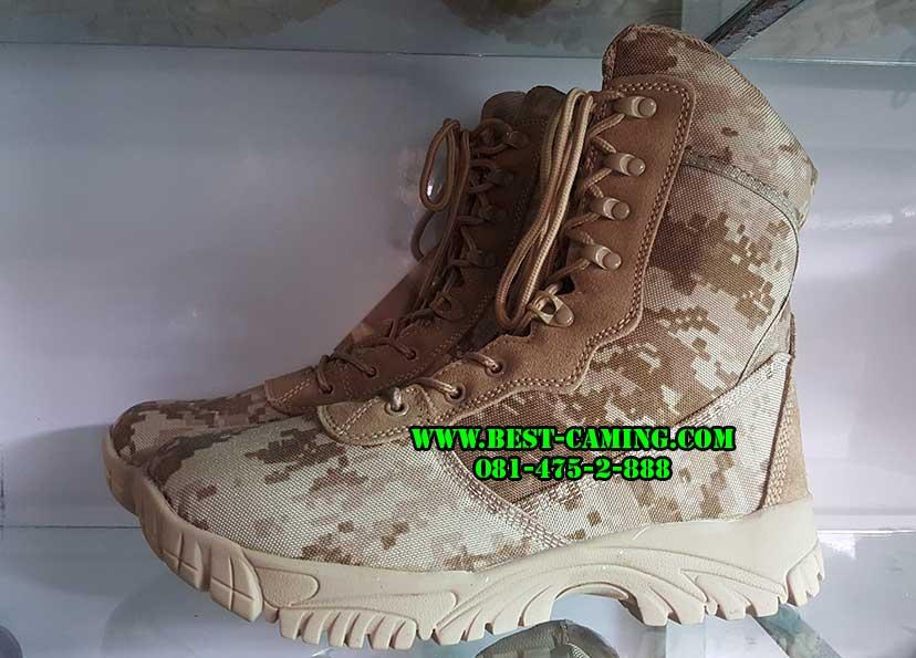 รองเท้าลายดิจิตอลทะเลทราย TACTICAL,DG-DESERT,ZIP