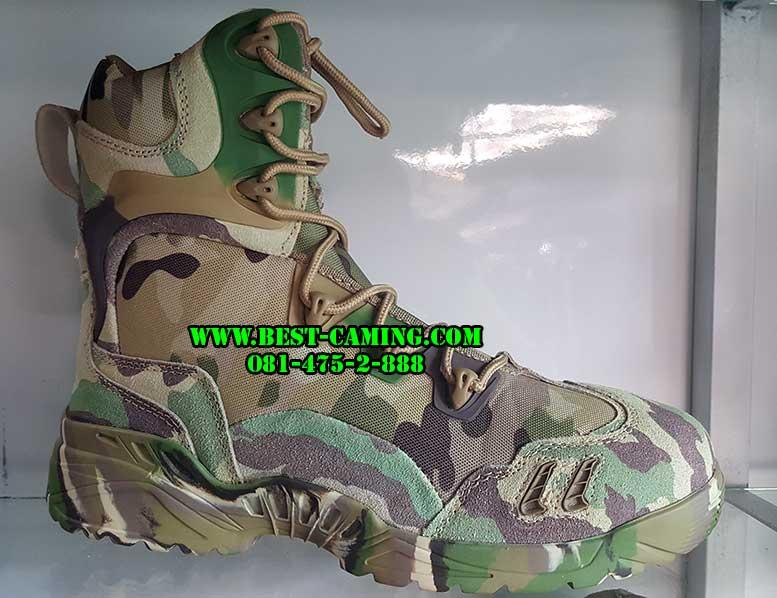 รองเท้าลายมัลติแคม,tactical,all camouflage multicam ZIP