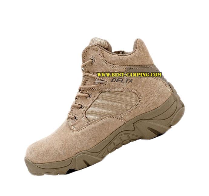 รองเท้า DELTA SHORT DESERT 6 inch,รองเท้าข้อสั้นเดลต้าสีทราย 6 นิ้ว