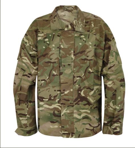 เสื้อแจ็คเก็ตลายพรางมัลติแคม,jacket2 Combat temperate Weather Mtp UK